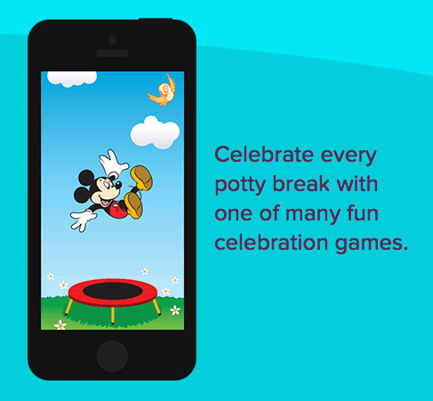 Potty Time celebration game