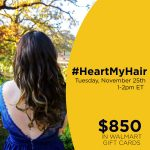 Join me at the #HeartMyHair Twitter Party Tuesday, November 25th!
