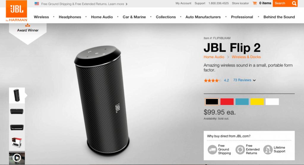 JBL online