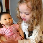 The Best Gift of the Year ~ Caroline and her Bitty Baby