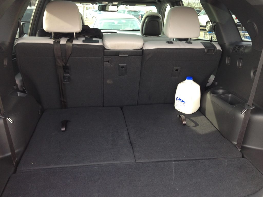 Trunk Space 2015 Kia Sorento