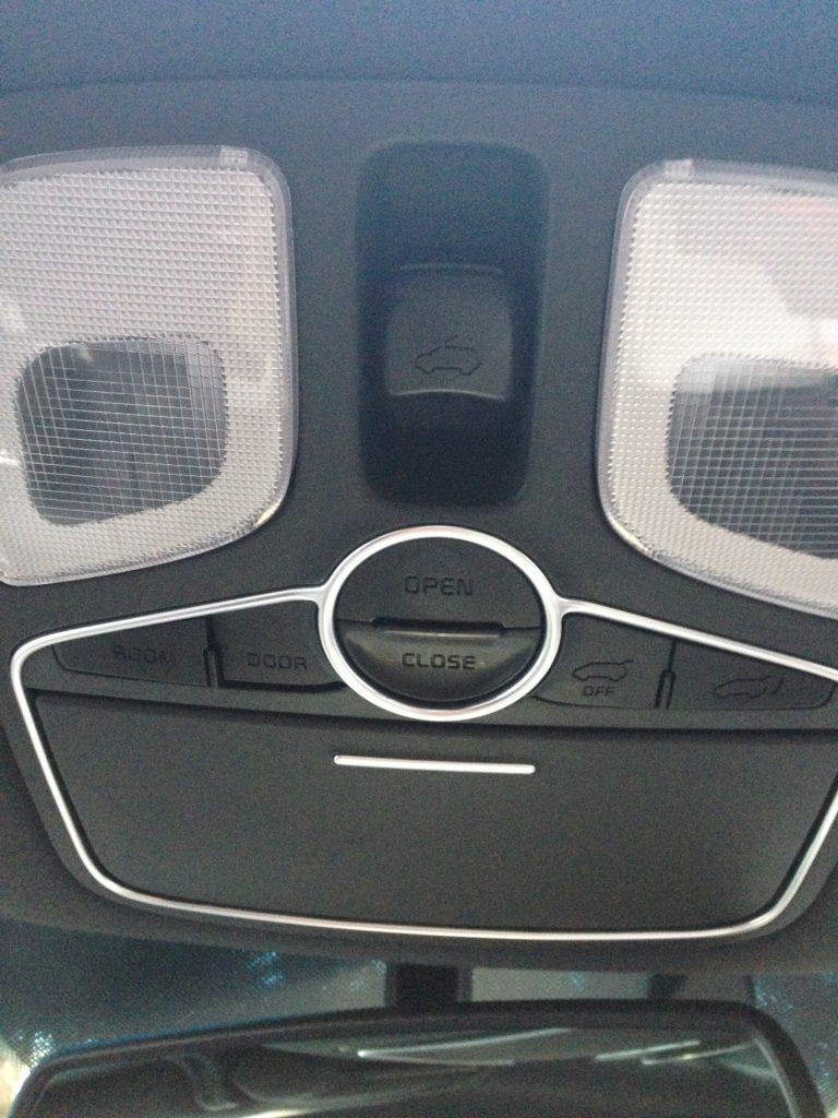 Panaramic sunroof