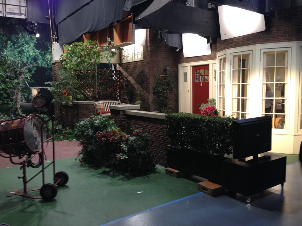 Melissa and Joey Set visit