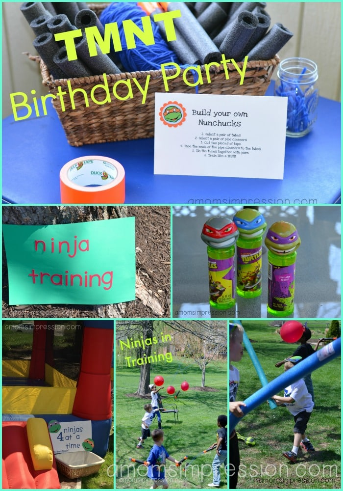 TMNT Birthday Party Ideas