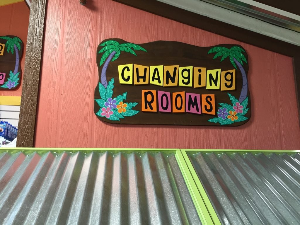 Changing Rooms at Goldfish