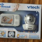 VTech Safe&Sound® Pan & Tilt Full Color Video Baby Monitor
