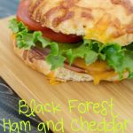 Black Forest Ham and Cheddar Melt