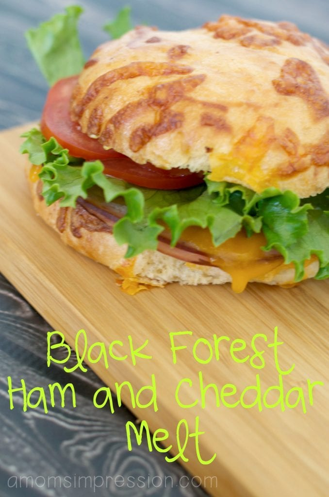 Black Forrest Ham and Cheddar Melt