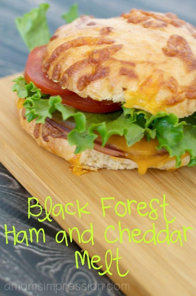 Black Forrest Ham and Cheddar Melt