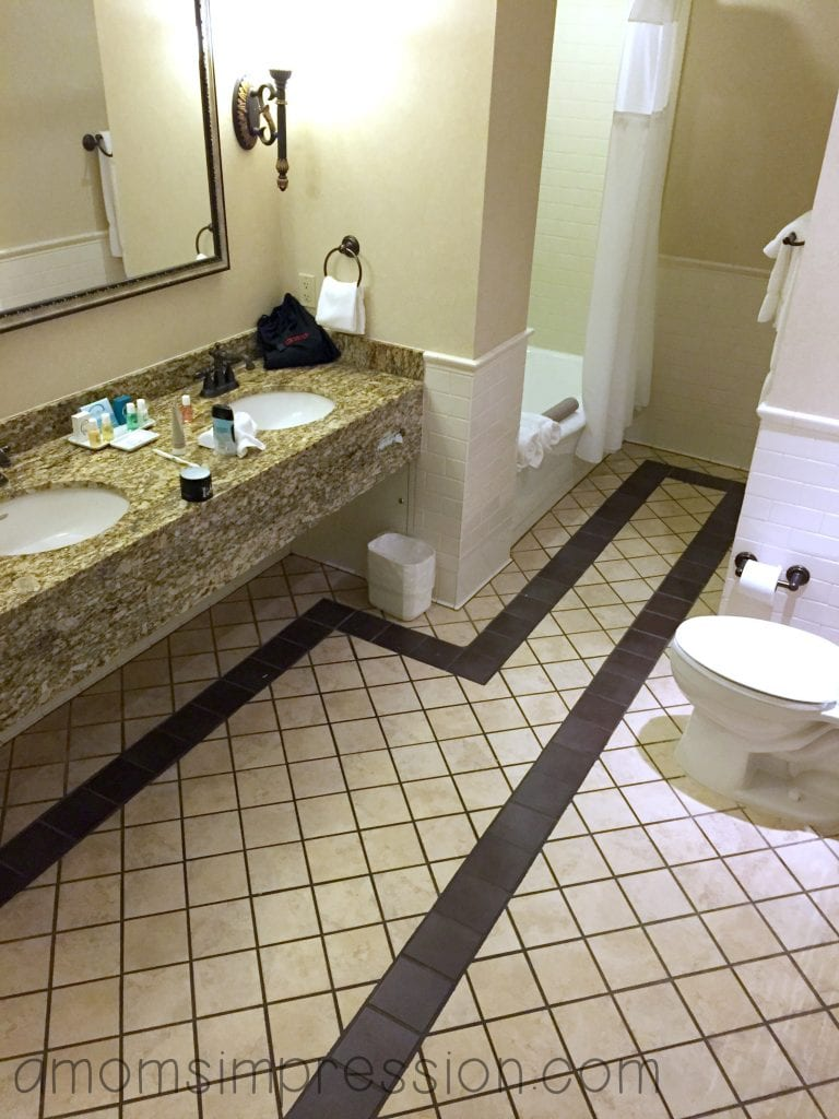 Our huge bathroom!