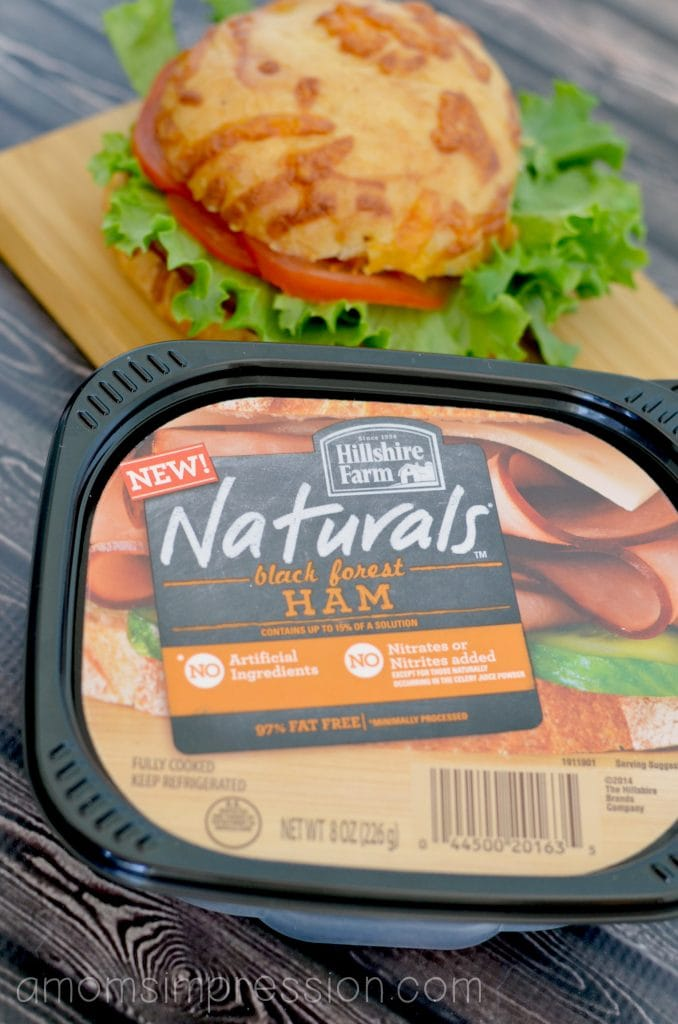 Hillshire Farms Natural ham and cheese
