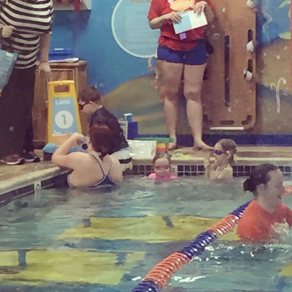 First solo swim trip