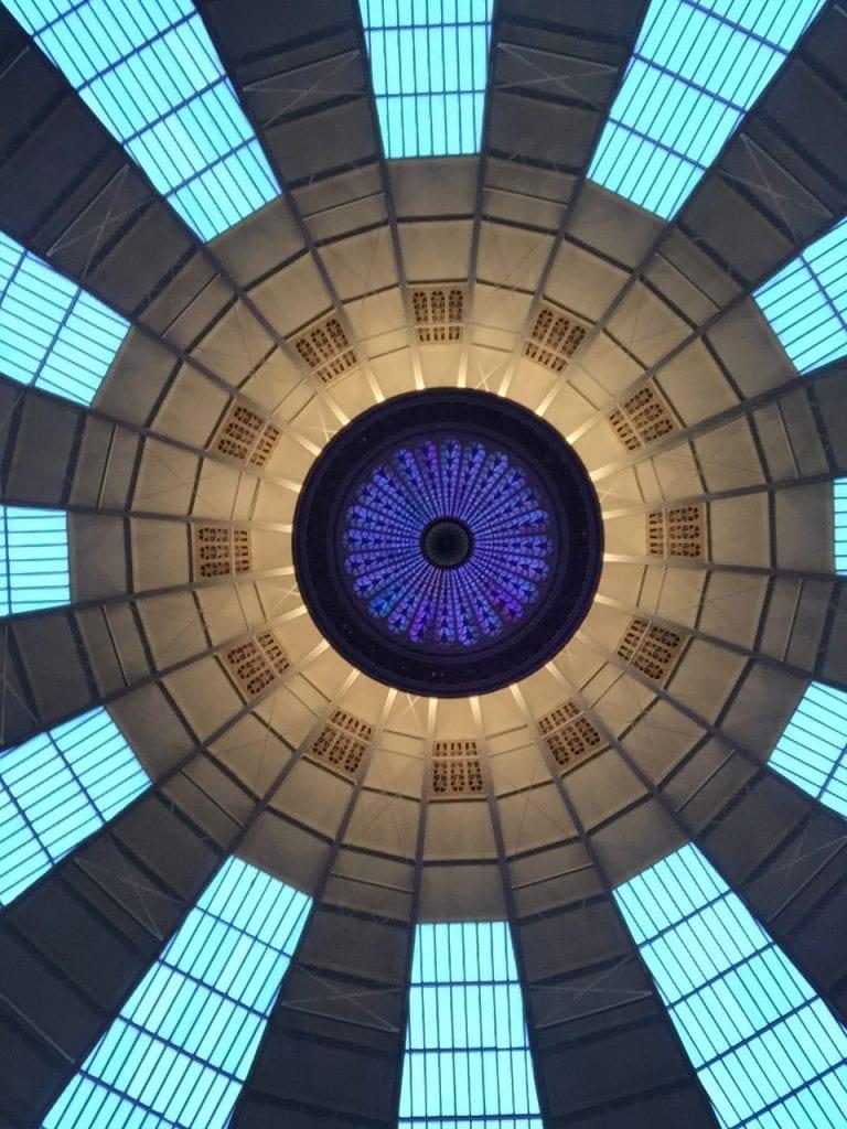 The atrium ceiling!