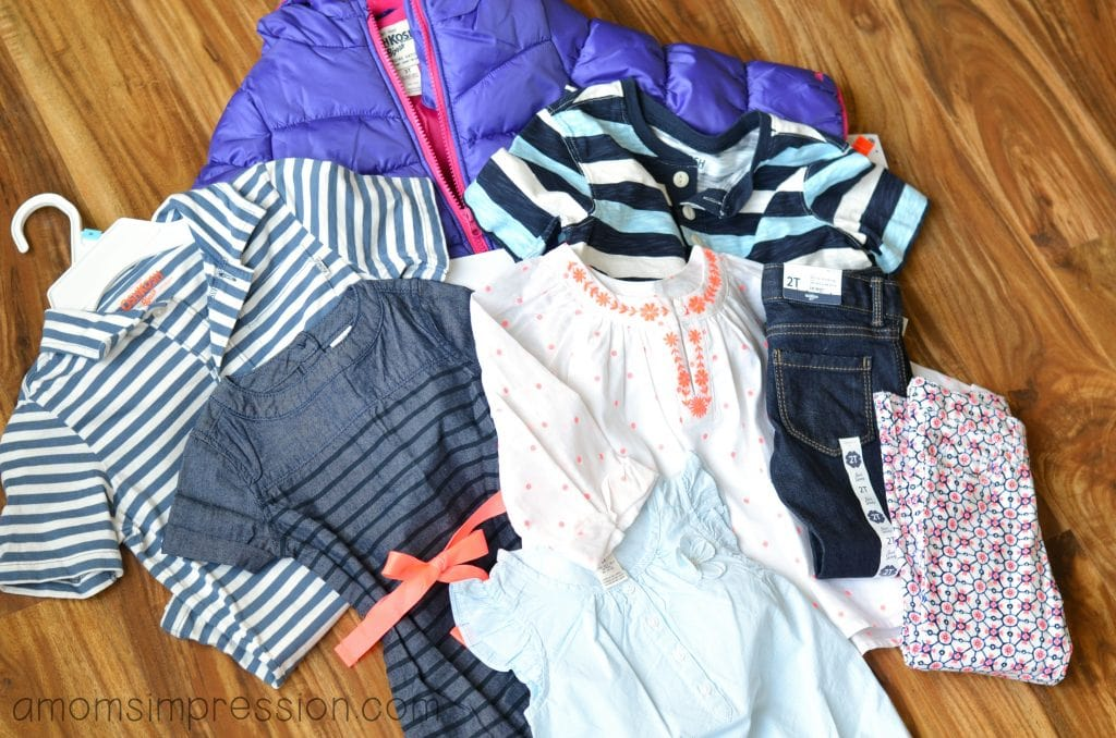 OshKosh B'Gosh Spring Clothing