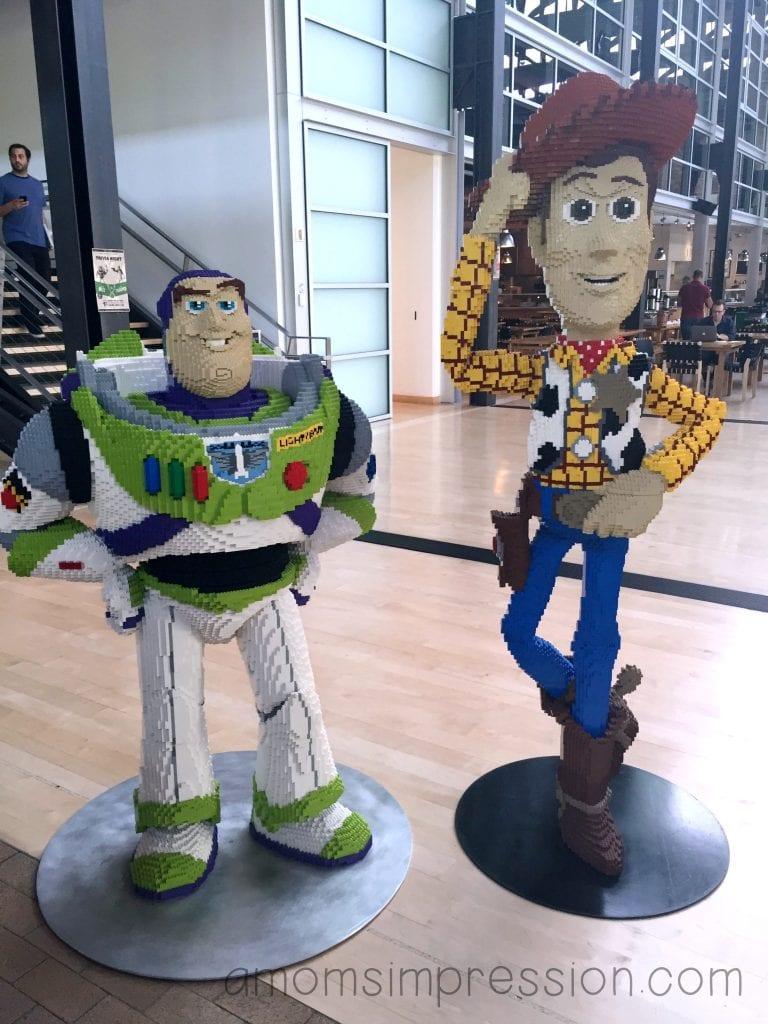 Lego Statues