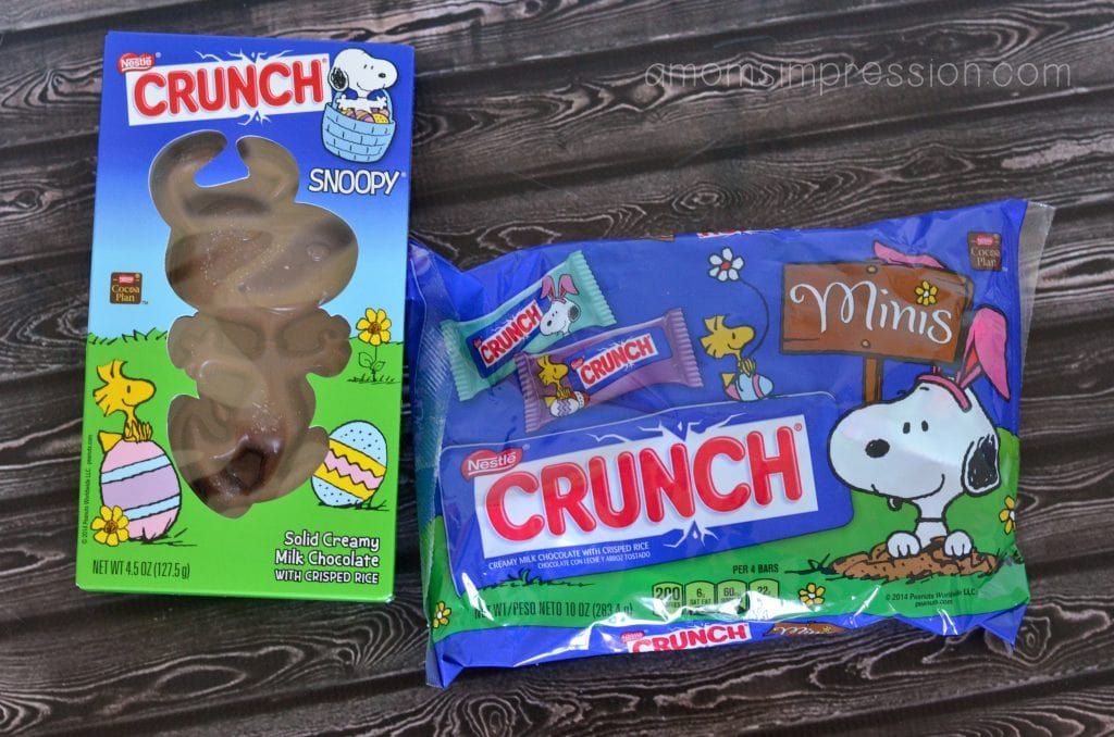 Peanuts themed candy