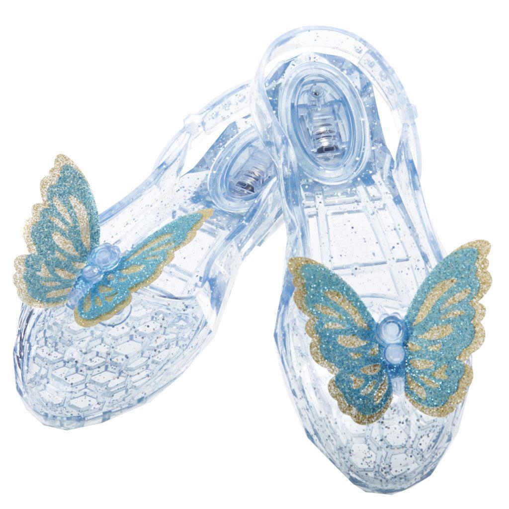 Walt Disney Studios Cinderella Enchanted Waltz Light Up Glass Slippers