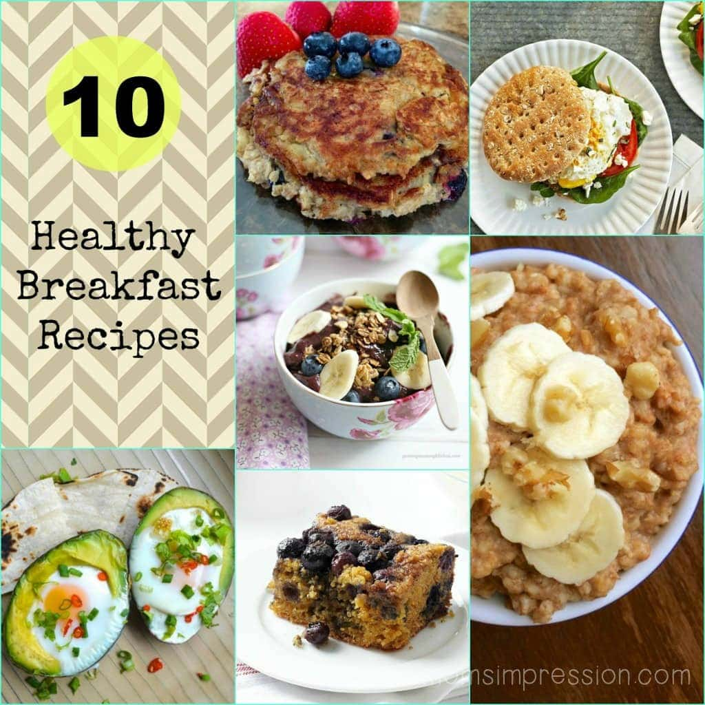 10 healthy breakfast recipes a mom s impression recipes crafts