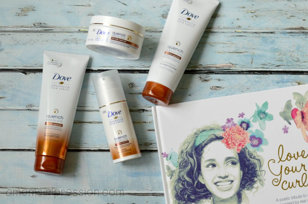 Dove Curls products