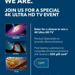 4K Ultra HD In-Store Events Happening Now at Best Buy!