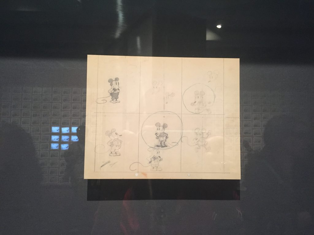 Earliest known drawing of Mickey Mouse