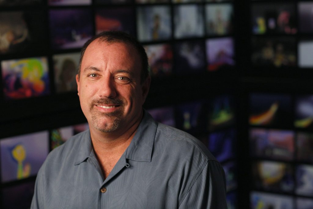 INSIDE OUT Production Designer Ralph Eggleston. Photo by Debby Coleman. ©2015 Disney•Pixar. All Rights Reserved.