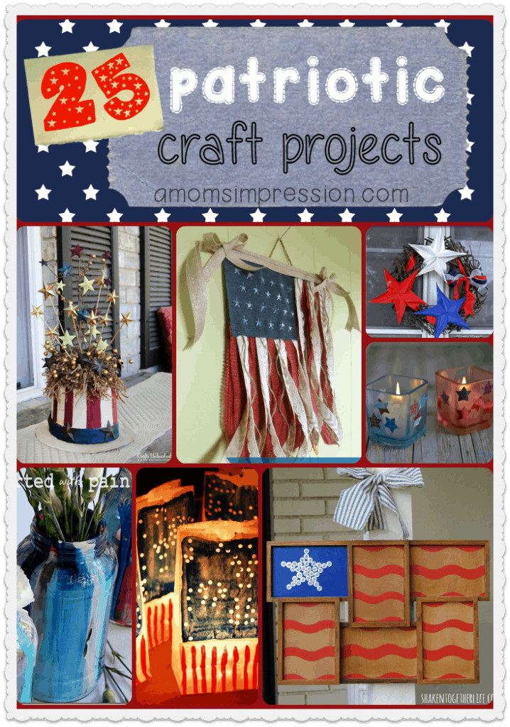 25 Patriotic Craft Projects