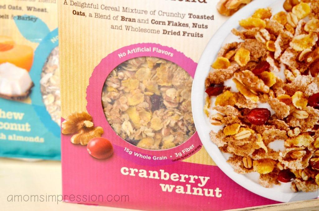 Cranberry walnut