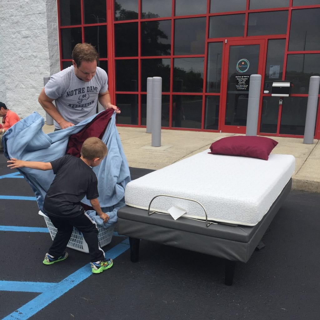 Making the Bed