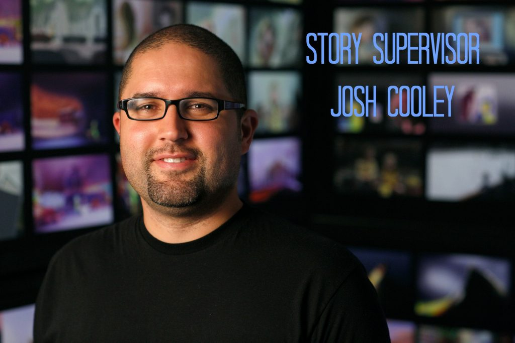 INSIDE OUT Story Supervisor Josh Cooley. Photo by Debby Coleman. ©2015 Disney•Pixar. All Rights Reserved.