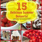15 Delicious Summer Desserts