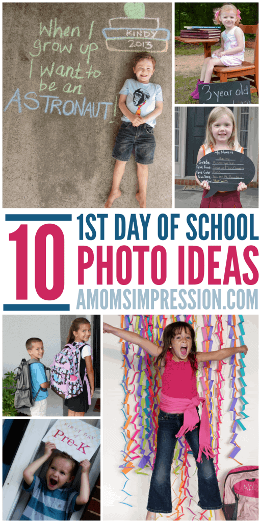 Gear up for the start of school with these fun first day of school photo ideas.