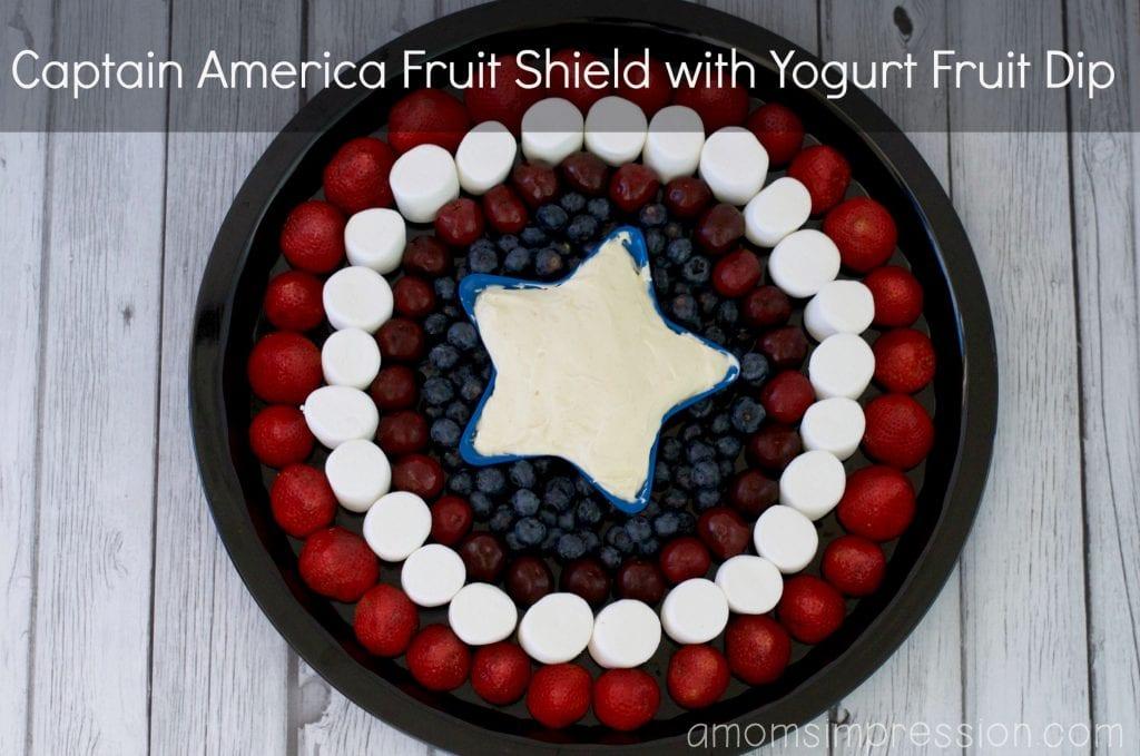 Capitan America Fruit Shield