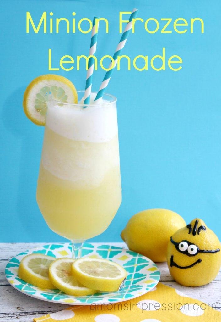 Minion frozen Lemonade