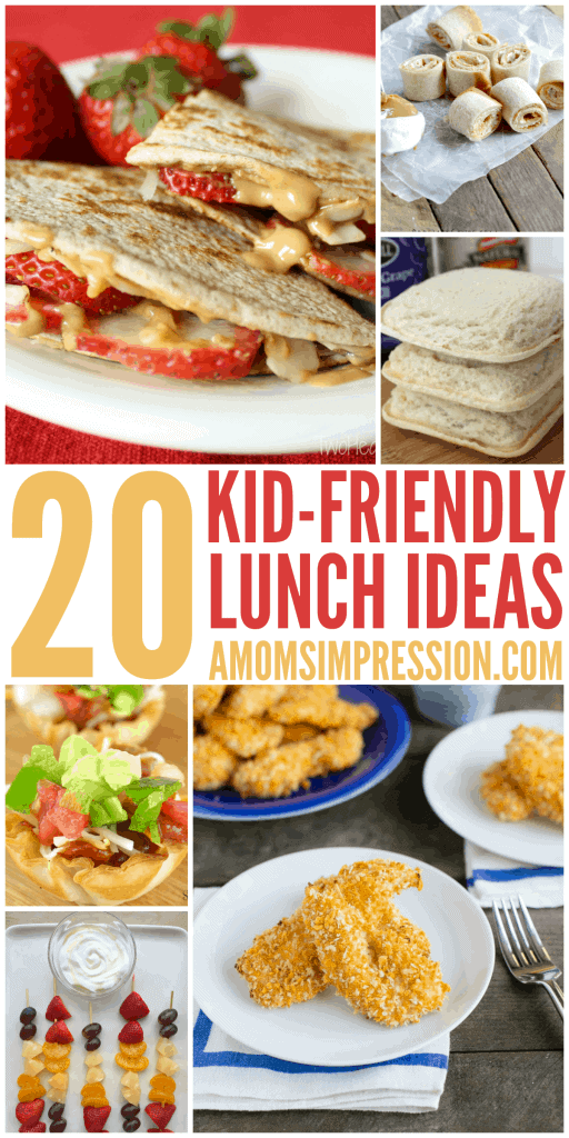 Need some lunchbox inspiration? Check out these 20 Kid Friendly Lunches that are perfect for Back to School. Get ideas beyond the traditional sandwich. My kids ask for #5 all the time.