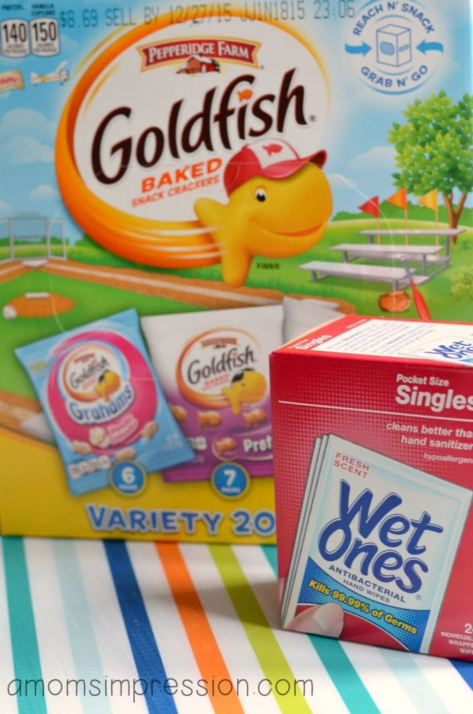 Goldfish and Wet One