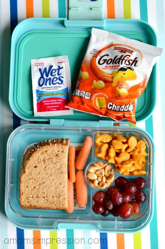 Lunch Box I Love It Because All Of The Food Groups Are Being Represented Granted The Sandwich Is A Peanut Butter And Jelly But We Are Light Years Ahead