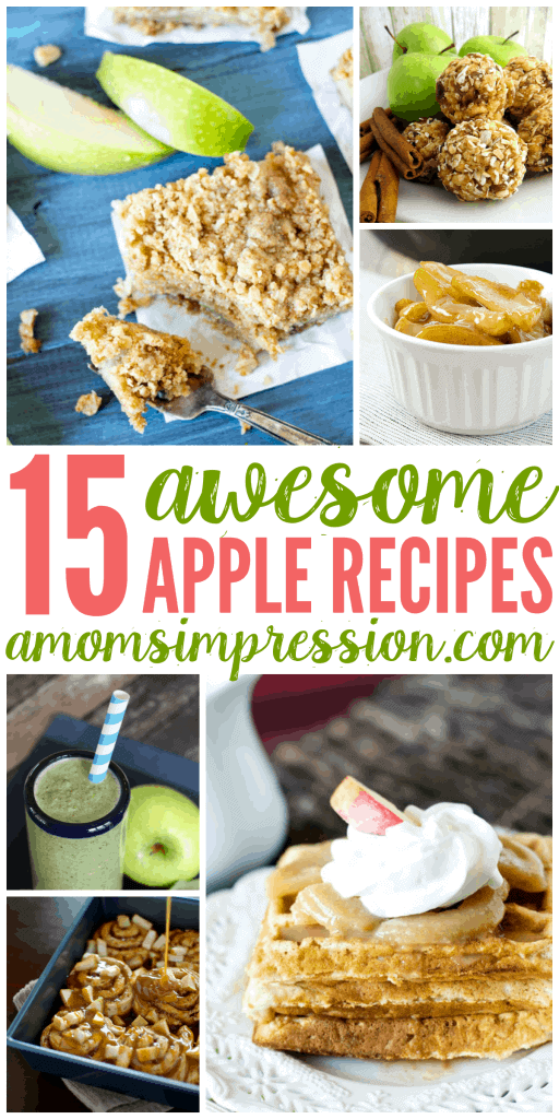 You are going to fall for this collection of easy apple recipes.  There is a little bit of everything from cookies, dessert and even healthy apple recipes that your going to love.