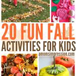 20 Fun Fall Activities for Kids