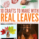 10 Crafts to Make with Leaves