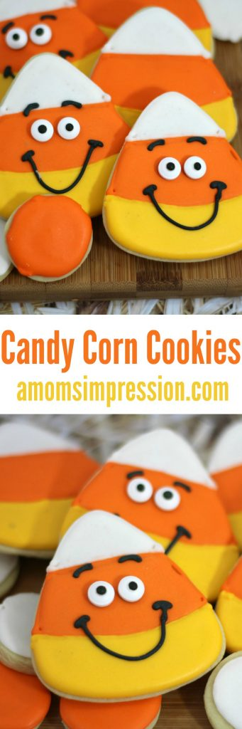 Candy Corn Cookies- A Mom's Impression | Resource for Busy Parents