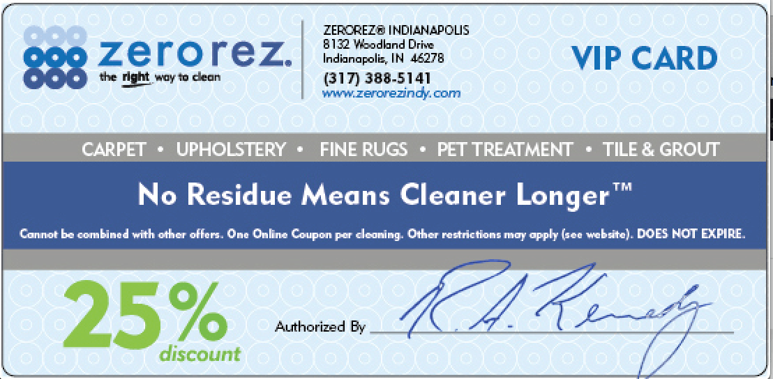 Zerorez Coupon
