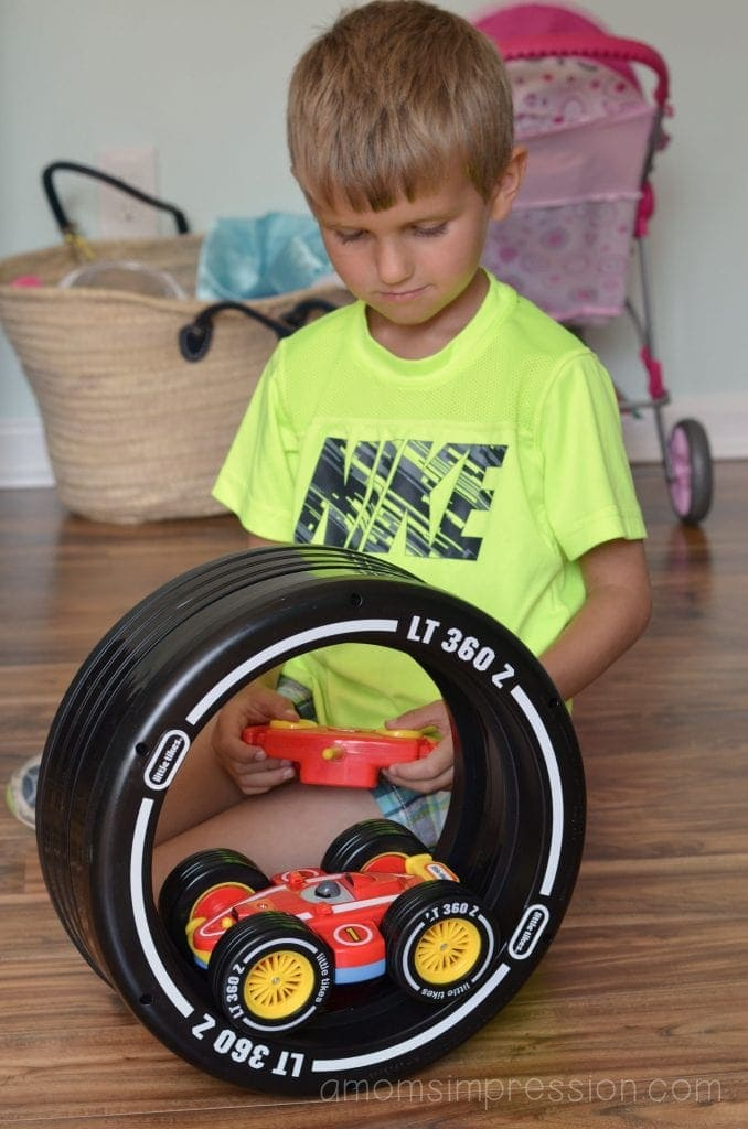 Toy Racecar
