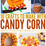 10 Amazing Candy Corn Crafts ~ Plus 1 to Grow on!