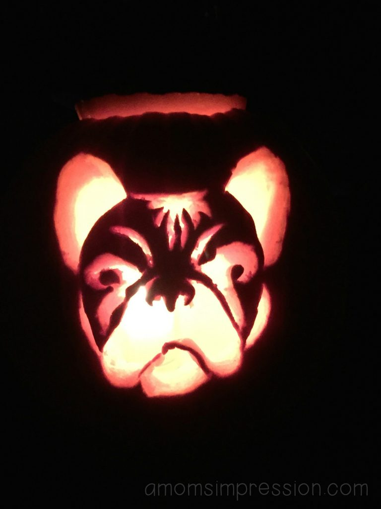 Carve Your Own French Bulldog Pumpkin- A Mom\'s Impression | Recipes ...