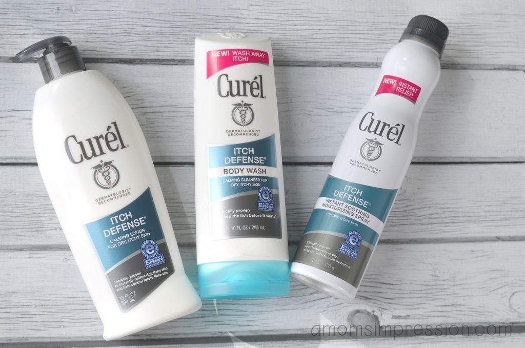 Curel Itch Defense Products