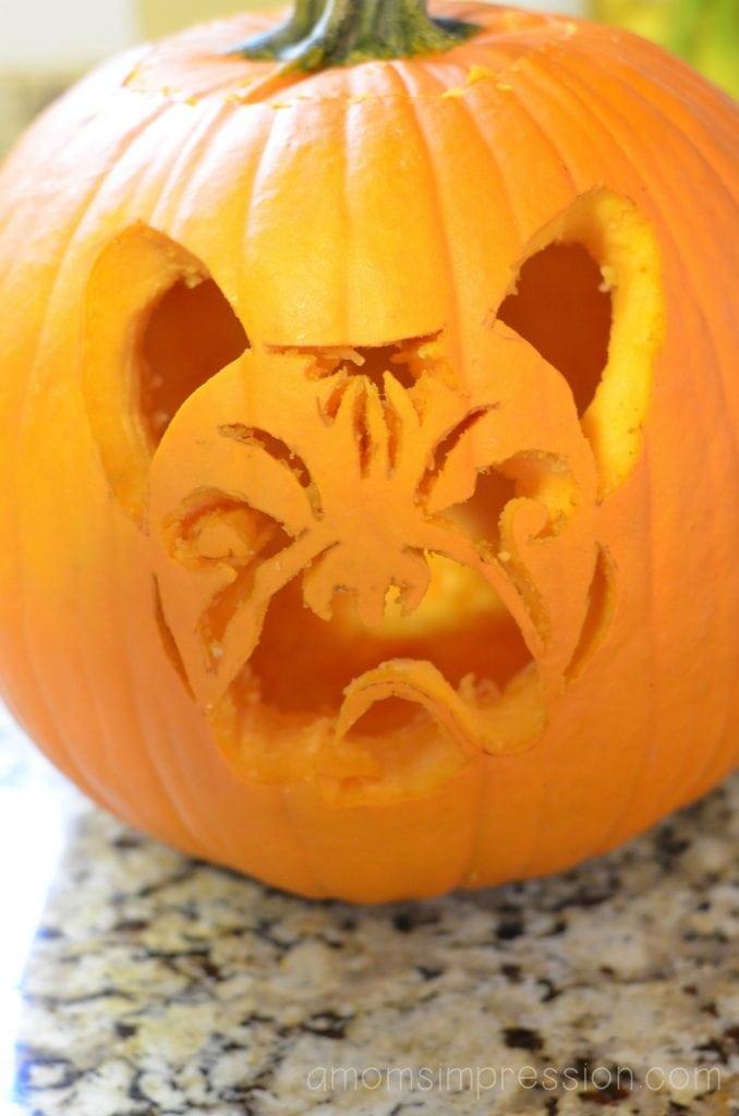 French Bulldog Pumpkin