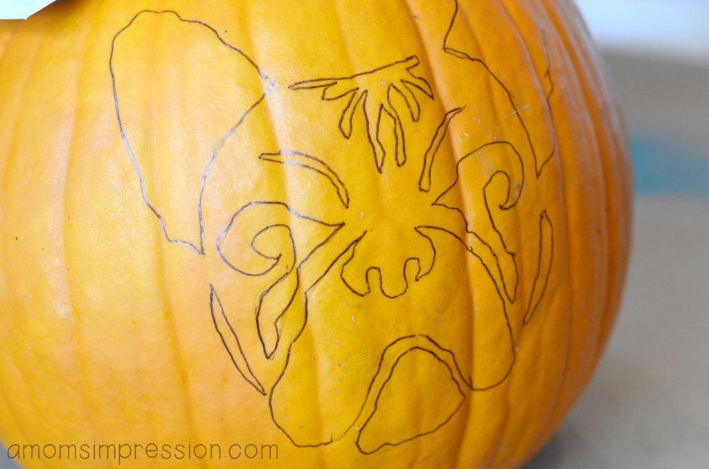 Frenchie Pumpkin