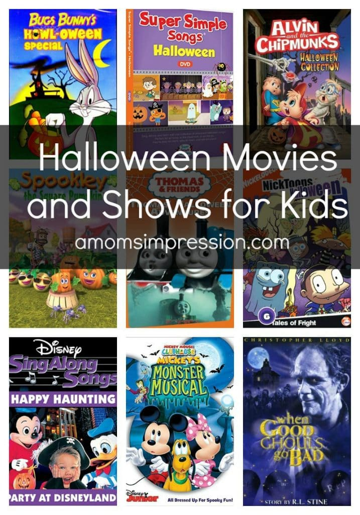 Halloween Movies and Shows for Kids- A Mom's Impression | Recipes ...