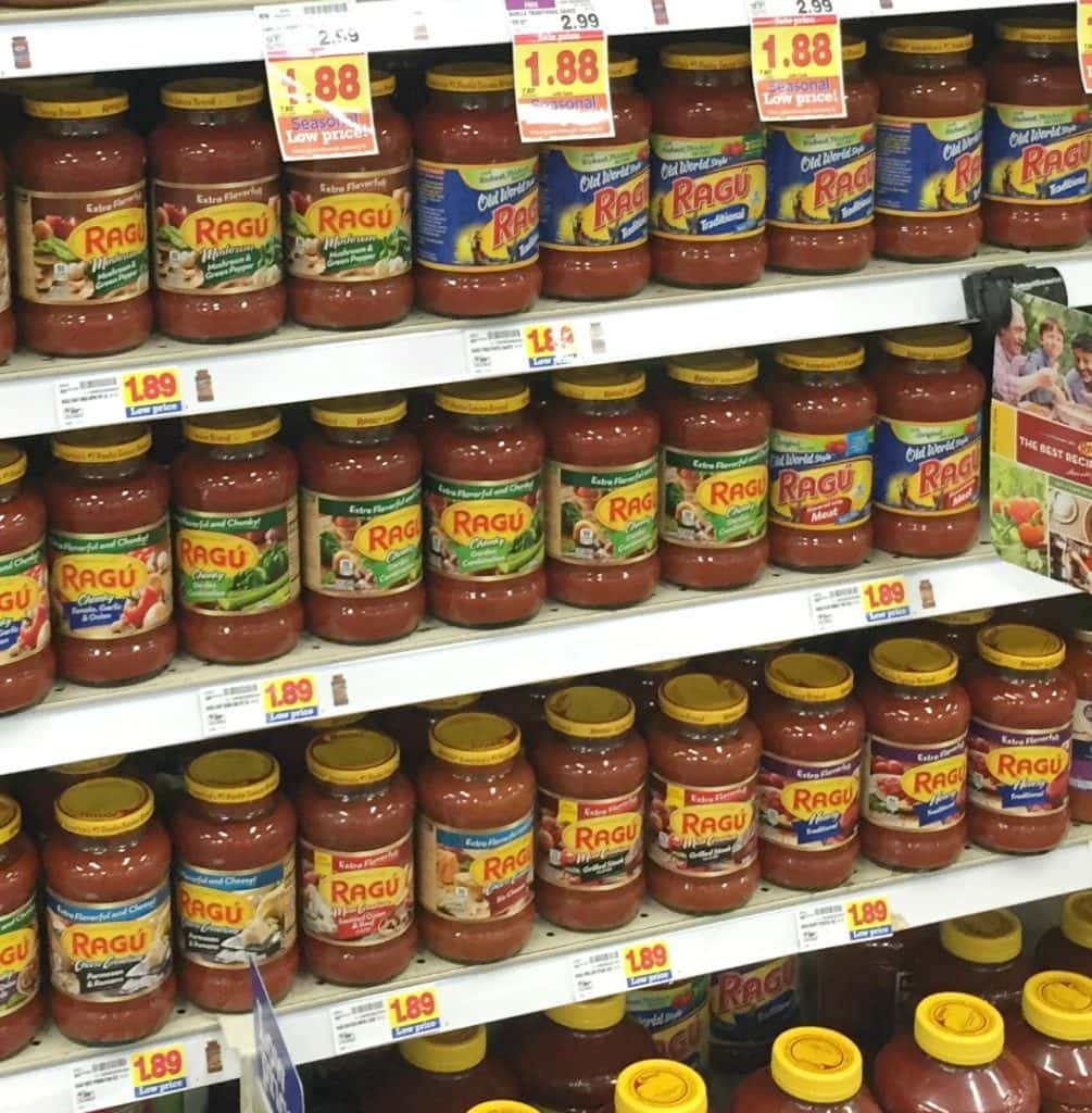 Ragu-at-Kroger-